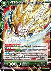 Ss3 Gotenks All Out Assault Vermilion Bloodline Dragon Ball Super Ccg Online Gaming Store For Cards Miniatures Singles Packs Booster Boxes