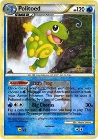 Politoed - 7/95 (League Promo), Pokemon, League & Championship Cards