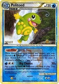 Politoed - 7/95 (League Promo) [Staff], Pokemon, League & Championship Cards