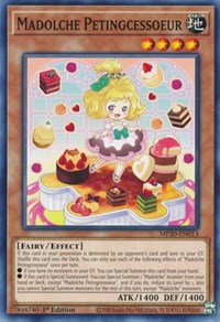 Madolche Petingcessoeur, YuGiOh, 2020 Tin of Lost Memories