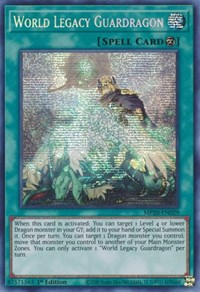 World Legacy Guardragon, YuGiOh, 2020 Tin of Lost Memories