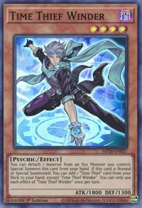 Time Thief Winder, YuGiOh, 2020 Tin of Lost Memories