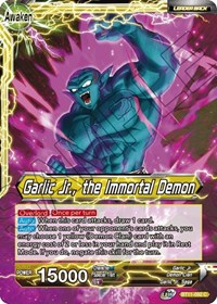 Garlic Jr Garlic Jr The Immortal Demon Vermilion Bloodline Dragon Ball Super Ccg Online Gaming Store For Cards Miniatures Singles Packs Booster Boxes Could have been an awesome saga if it was executed better. usd