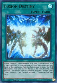 Fusion Destiny, YuGiOh, 2020 Tin of Lost Memories