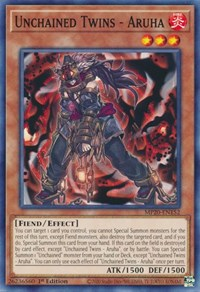 Unchained Twins - Aruha, YuGiOh, 2020 Tin of Lost Memories