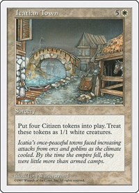 Icatian Town, Magic, Fifth Edition