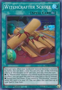 Witchcrafter Scroll, YuGiOh, 2020 Tin of Lost Memories
