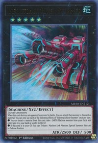 MP20-EN213 Infinitrack Mountain Smasher1st Edition Ultra Rare Card YuGiOh TCG