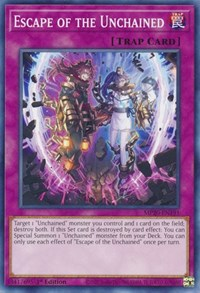 Escape of the Unchained, YuGiOh, 2020 Tin of Lost Memories