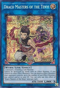 Draco Masters of the Tenyi, YuGiOh, 2020 Tin of Lost Memories