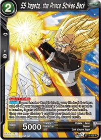 SS Vegeta, the Prince Strikes Back, Dragon Ball Super CCG, Vermilion Bloodline