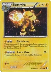 Electivire - 54/149 (Cosmos Holo), Pokemon, Blister Exclusives