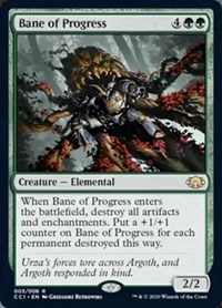 Bane of Progress, Magic, Commander Collection: Green