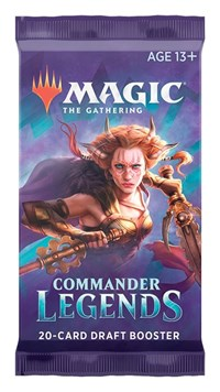 Commander Legends - Draft Booster Pack, Magic: The Gathering, Commander Legends