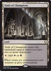 Vault of Champions, Magic: The Gathering, Commander Legends