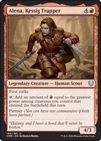 Alena, Kessig Trapper, Magic: The Gathering, Commander Legends