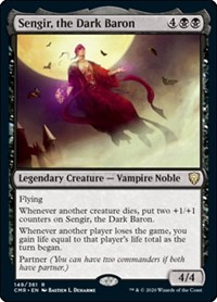 Sengir, the Dark Baron, Magic: The Gathering, Commander Legends