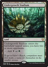 Undergrowth Stadium, Magic, Commander Legends