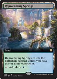 Rejuvenating Springs (Extended Art), Magic: The Gathering, Commander Legends
