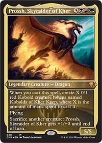 Prossh, Skyraider of Kher (Foil Etched), Magic: The Gathering, Commander Legends