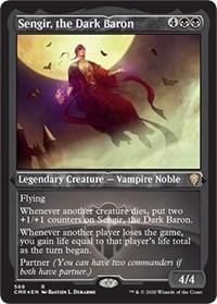 Sengir, the Dark Baron (Foil Etched), Magic, Commander Legends