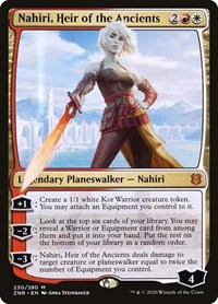 Nahiri, Heir of the Ancients, Magic: The Gathering, Zendikar Rising