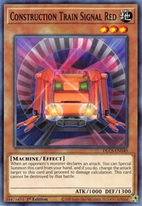 Construction Train Signal Red, YuGiOh, Dragons of Legend: The Complete Series