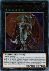 Number 24: Dragulas the Vampiric Dragon, YuGiOh, Dragons of Legend: The Complete Series
