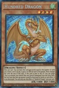 Hundred Dragon DLCS-EN146 Secret Rare Yu-Gi-Oh Card 1st Edition New