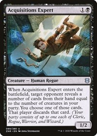 Acquisitions Expert (Foil)