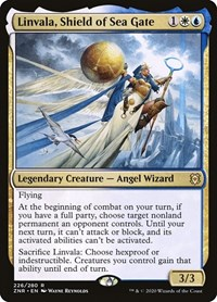 Linvala, Shield of Sea Gate, Magic, Zendikar Rising