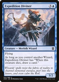 Expedition Diviner, Magic, Zendikar Rising
