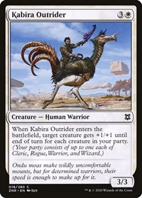Kabira Outrider, Magic: The Gathering, Zendikar Rising