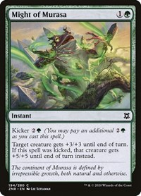 Might of Murasa, Magic: The Gathering, Zendikar Rising
