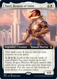 Tazri, Beacon of Unity (Extended Art), Magic: The Gathering, Zendikar Rising