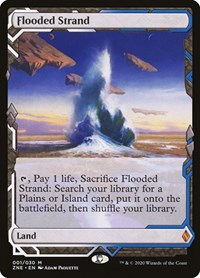 Flooded Strand, Magic: The Gathering, Zendikar Rising Expeditions