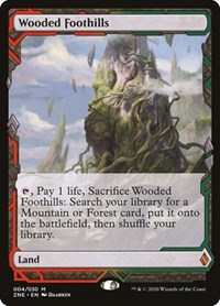 Wooded Foothills, Magic: The Gathering, Zendikar Rising Expeditions