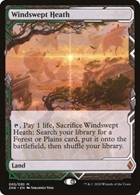 Windswept Heath, Magic, Zendikar Rising Expeditions