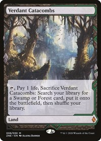 Verdant Catacombs, Magic, Zendikar Rising Expeditions