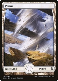 Plains (267) - Full Art, Magic: The Gathering, Zendikar Rising