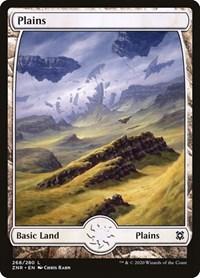 Plains (268) - Full Art, Magic: The Gathering, Zendikar Rising