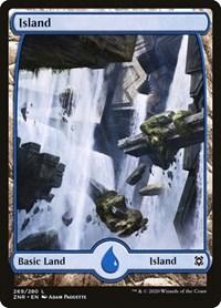 Island (269) - Full Art, Magic: The Gathering, Zendikar Rising