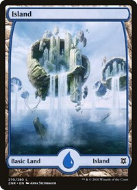 Island (270) - Full Art, Magic: The Gathering, Zendikar Rising