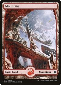 Mountain (277) - Full Art, Magic: The Gathering, Zendikar Rising