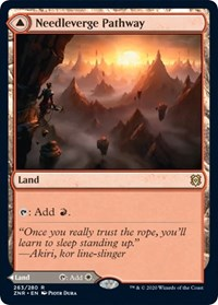 Needleverge Pathway, Magic: The Gathering, Zendikar Rising