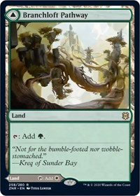 Branchloft Pathway // Boulderloft Pathway, Magic, Zendikar Rising