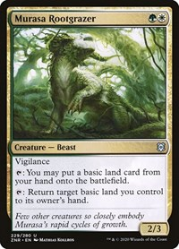 Murasa Rootgrazer, Magic, Zendikar Rising