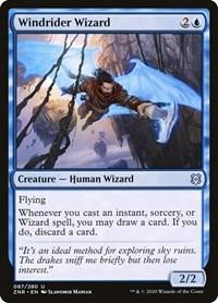 Windrider Wizard, Magic, Zendikar Rising