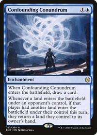 Confounding Conundrum, Magic, Zendikar Rising