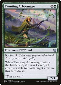 Taunting Arbormage (Foil)
